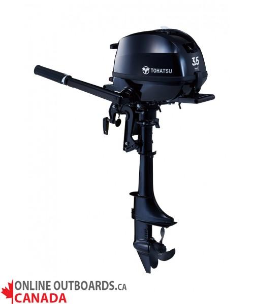 MFS3.5CL Tohatsu 3.5 hp 4-Stroke