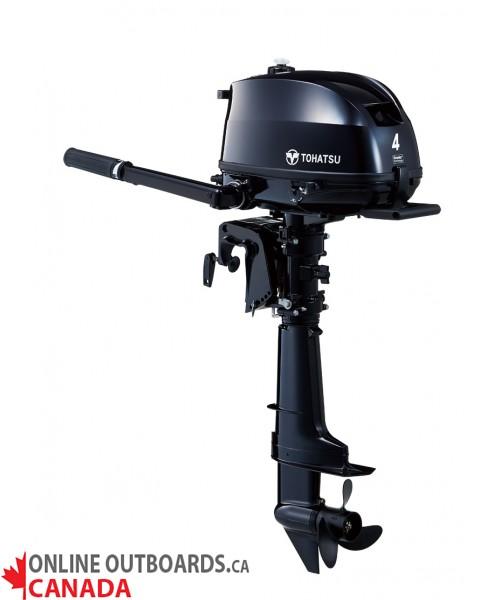 MFS4DDL Tohatsu 4 hp 4-Stroke
