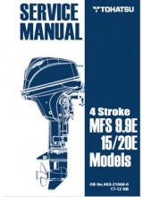 Tohatsu Service Manual Model 9.9/15/20E