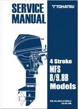 Tohatsu Service Manual Model 8/9.8B
